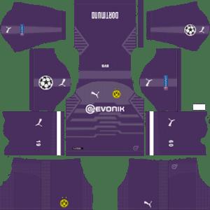 Borussia Dortmund UCL Goalkeeper Away Kit