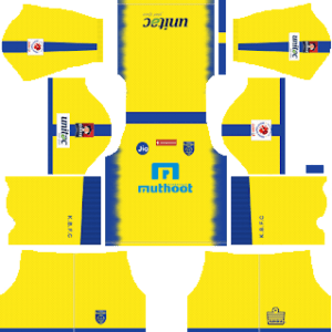 Kerala Blasters FC Kits 2018/2019 Dream League Soccer