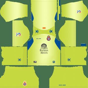 RCD Espanyol Goalkeeper Away Kit 2019