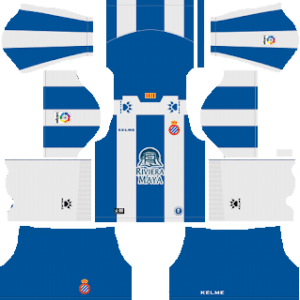 RCD Espanyol Kits 2018/2019 Dream Leagues Soccer