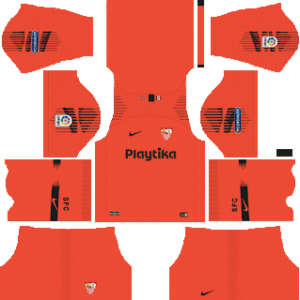 Sevilla FC Goalkeeper Away Kit 2019