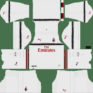 AC Milan Away Kit 2019