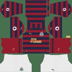 Newcastle United Away Kit 2019