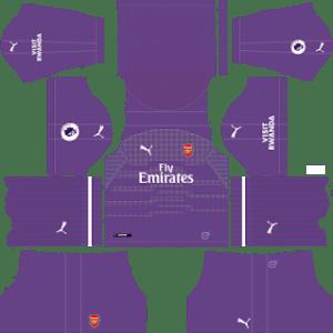 Arsenal Goalkeeper Away Kit 2019