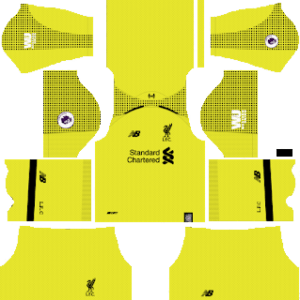 Liverpool Goalkeeper Home Kit 2019