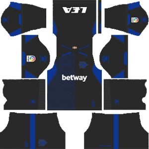 Deportivo Alaves Goalkeeper Third Kit 2019