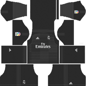 Real Madrid GK home kit 2019