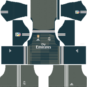 Real Madrid gk third kit 2019