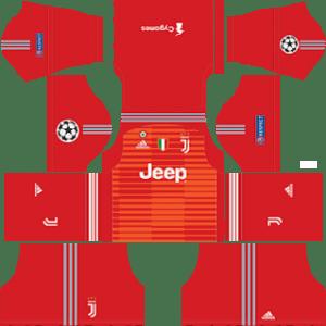 Juventus Goalkeeper Away Kit