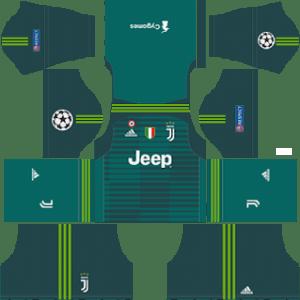 Juventus Goalkeeper Home Kit