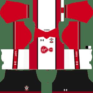 Southampton F.C. Kits 2017/2018 Dream League Soccer