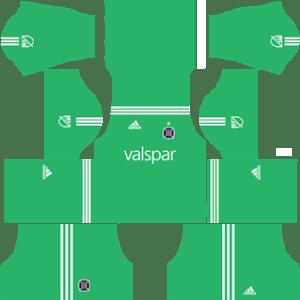 Chicago Fire Goalkeeper Away Kit 2019