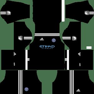 New York City FC Goalkeeper Away Kit 2019