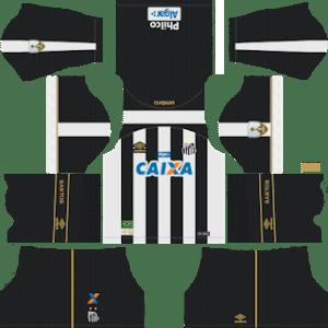 Santos FC Away Kit 2019