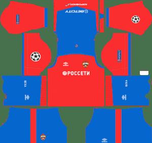 CSKA Moscow Kits 2018/2019 Dream League Soccer