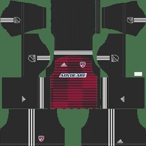 FC Dallas Goalkeeper Home Kit 2019
