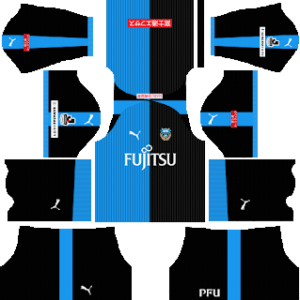 Kawasaki Frontale Kits 2018-2019 Dream League Soccer