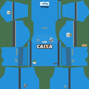 Santos FC Goalkeeper Home Kit 2019