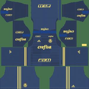 Palmeiras Goalkeeper Home Kit 2019