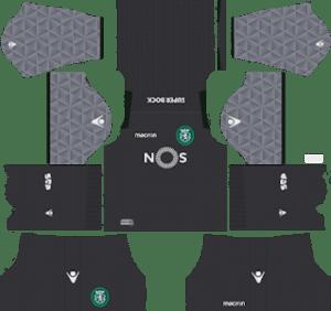 Sporting CP Goalkeeper Home Kit 2019