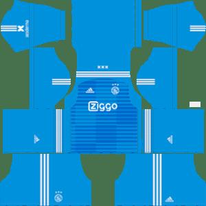 AFC Ajax Goalkeeper Home Kit 2019