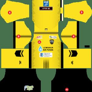 Perak FA Kits 2018/2019 Dream League Soccer 2019