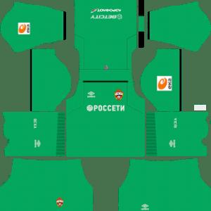 CSKA Moscow Goalkeeper Third Kit 2019