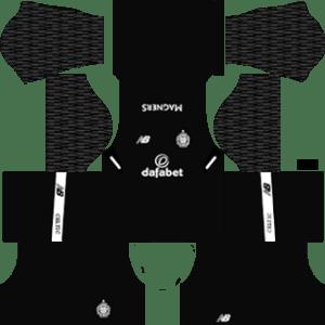 Celtic FC Goalkeeper Away Kit 2018