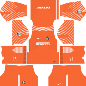Inter Milan Goalkeeper Home Kit 2018