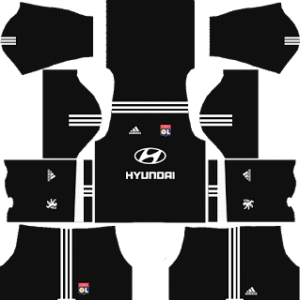 Olympique Lyonnais Goalkeeper Home Kit: