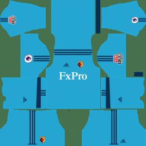Watford FC Goalkeeper Home Kit: