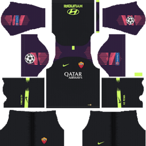 AS Roma Goalkeeper Away Kit
