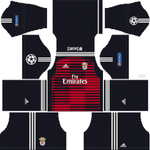 SL Benfica Goalkeeper Away Kit: