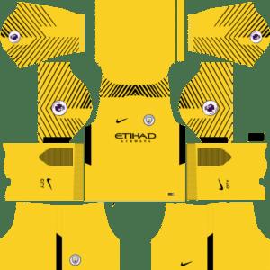 Manchester City Goalkeeper Away Kit: