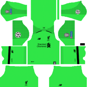 Liverpool Goalkeeper Away Kit