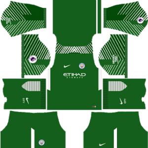 Manchester City Goalkeeper Home Kit: