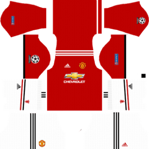 Manchester United UCL Kits 2017/2018 Dream League Soccer