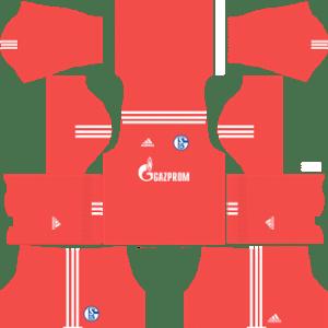 Schalke 04 Goalkeeper Away Kit: