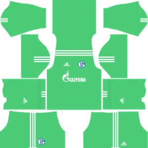 Schalke 04 Goalkeeper Home Kit: