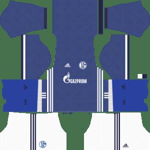Schalke 04 Kits 2017/2018 Dream League Soccer