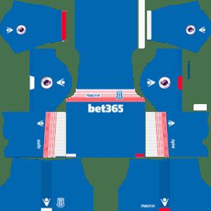 Stoke City FC Away Kit: