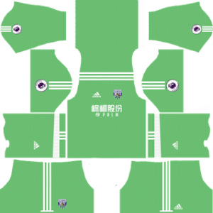 West Bromwich Albion FC Goalkeeper Home Kit: