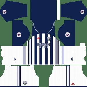 West Bromwich Albion FC Kits 2017/2018 Dream League Soccer