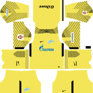 Zenit St Petersburg Goalkeeper Third Kit:
