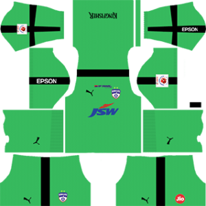 Bengaluru FC Goalkeeper Away Kit