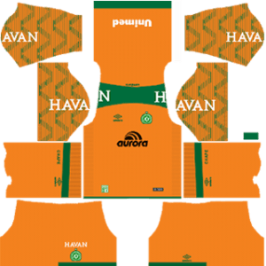 Chapecoense Goalkeeper Home Kit
