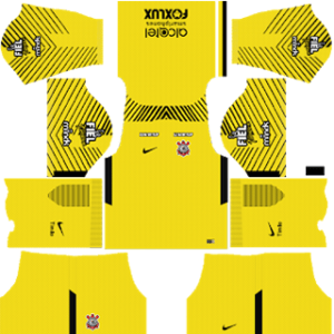 Corinthians Goalkeeper Home Kit