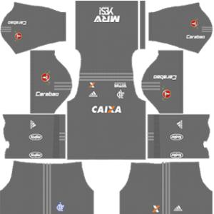Flamengo Goalkeeper Away Kit
