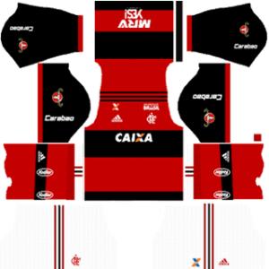 Flamengo Kits 2017/2018 Dream League Soccer