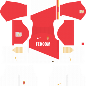 AS Monaco FC Kits 2017/2018 Dream League Soccer